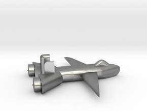 Jet no landing gear in Natural Silver