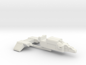 MKII Raptor Gunship (wings separate) in White Natural Versatile Plastic