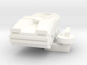 Mantis Infantry Support Vehicle in White Processed Versatile Plastic
