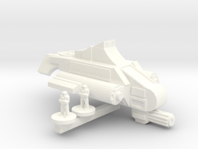Viper VTOL in White Processed Versatile Plastic