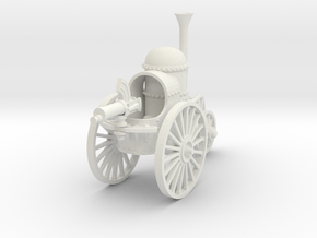 Battle Tricycle in White Natural Versatile Plastic