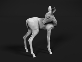 Impala 1:35 Licking Fawn in Smooth Fine Detail Plastic