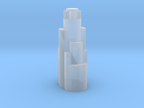 US Bank Tower  in Smooth Fine Detail Plastic