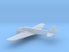 Boeing 247D in Smooth Fine Detail Plastic: 6mm