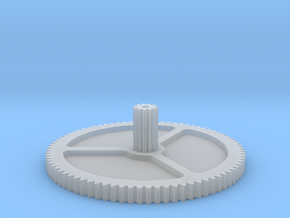Gear for Philips FP455 turntable in Smooth Fine Detail Plastic