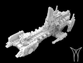 Intrepid MarkII class Cruiser in White Natural Versatile Plastic
