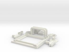 HIC Set 1 in White Natural Versatile Plastic
