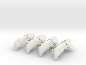 Squadron of Omens in White Natural Versatile Plastic