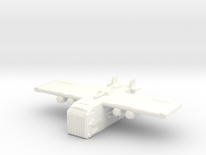 Eagle Fortress Carrier in White Processed Versatile Plastic