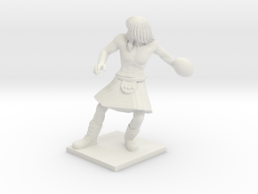 Norse 09 - Thrower in White Natural Versatile Plastic