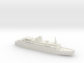 1/1250 HMS Keren in White Natural Versatile Plastic