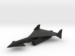 Convair Carrier Supersonic Reconnaissance Aircraft in Black Premium Strong & Flexible: 1:160 - N
