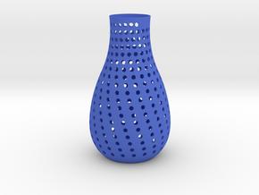 vase  in Blue Strong & Flexible Polished