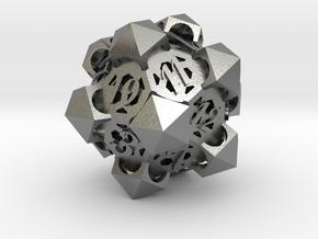 Gazebo d20 in Natural Silver