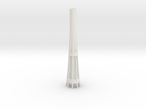 ASTB - Auckland SkyTower 1:500 Base Section in White Natural Versatile Plastic