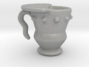 Imp's cup (set 1 of 2) in Aluminum