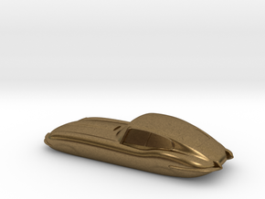 E-type 55mm Keychain in Natural Bronze