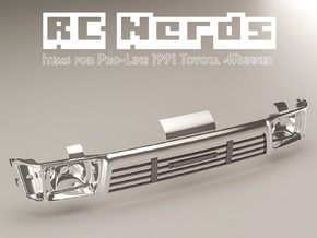 RCN052b Grill for Toyota 4Runner from PL in White Natural Versatile Plastic