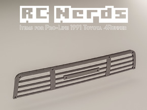 RCN053 Grill part for Toyota 4Runner from PL in Black Hi-Def Acrylate