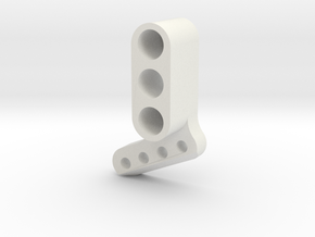 TC4 Camber Link Mount FL RR in White Natural Versatile Plastic