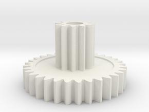 Marui Big Bear Idler Gear 32T:11T in White Natural Versatile Plastic