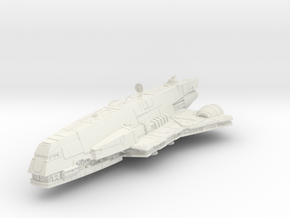1/144 Imperial Assault Carrier (Gozanti) (single p in White Natural Versatile Plastic