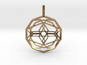 Source Sphere (Domed) in Natural Brass