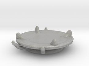 Imp's saucer (set 2 of 2) in Aluminum