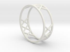 XXX Size-12 in White Natural Versatile Plastic
