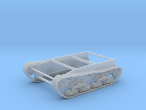 28mm Wk6 tracked chassis in Smooth Fine Detail Plastic