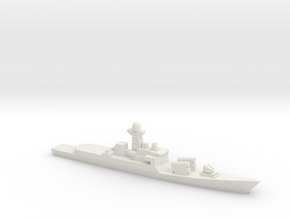 Khukri-class corvette, 1/2400 in White Natural Versatile Plastic