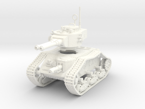 15mm Autocannon Empire Tank in White Processed Versatile Plastic