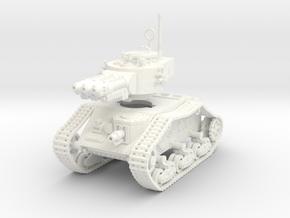 15mm Lee-Man Plasmotron tank in White Processed Versatile Plastic