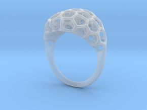 Ring Voronoi Volume II in Smooth Fine Detail Plastic