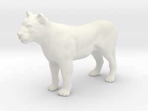 Printle Thing Lioness - 1/35 in White Natural Versatile Plastic