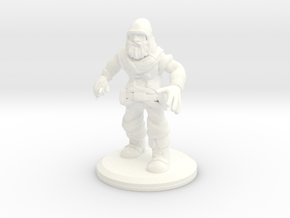 D&D Mini - Patches The Rogue in White Processed Versatile Plastic