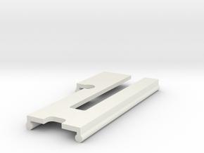 front_shield_joiner in White Natural Versatile Plastic