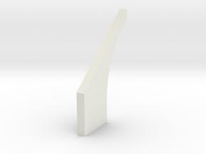 shkr032 - Teil 32 Stützmauerbogen außen breit R30 in White Natural Versatile Plastic