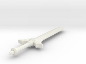 Miniature Outland Ravager Sword - Dota 2 in White Natural Versatile Plastic: 1:12