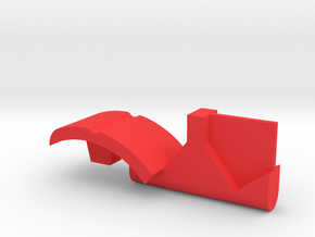 Warthog throttle part - center detent with reverse in Red Processed Versatile Plastic