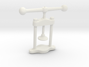 Manual press in White Natural Versatile Plastic