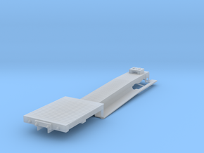 ET&WNC Trailer Flat HOn3 in Smooth Fine Detail Plastic