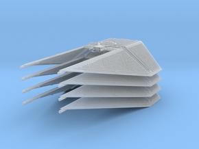 1/144 TIE Interceptor Wing Set of 4 in Smoothest Fine Detail Plastic