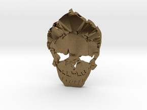 Joker - Squad Skull in Natural Bronze