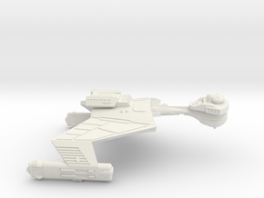 3125 Scale Klingon SD7K Strike Cruiser WEM in White Natural Versatile Plastic
