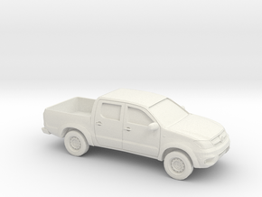 1/72  2005-15 Toyota Hilux in White Natural Versatile Plastic