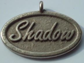 Oval Pet Tag / Pendant in Stainless Steel