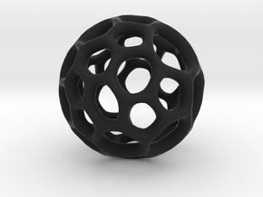 Gaia-40 (from $12) in Black Premium Versatile Plastic