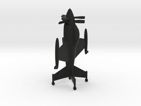 Lockheed XFV-1 Salmon in Black Natural Versatile Plastic: 1:200