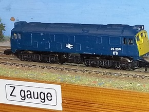 Class 24 Late / Class 25 Early - Z - 1:220 in Frosted Ultra Detail
